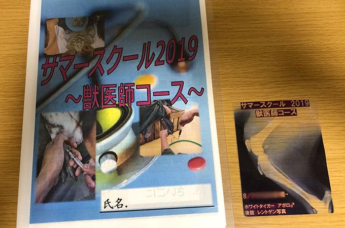 東武動物公園 サマースクール 獣医師コース